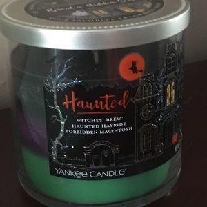 NEW YANKEE CANDLE RARE HALLOWEEN TRIO TUMBLER